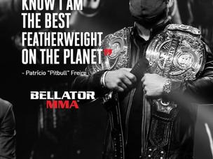 "【Bellator】パトリシオ・""ピットブル""・フレイレ「俺は自分が地球上で一番のフェザー級ファイターだってことをすでに知っている」"