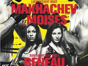 【UFC】UFC ファイトナイト:マカチェフ vs. モイゼス開催=7.17