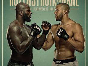 【UFC】「UFC Fight Night:Rozenstruik vs. Gane」今週もヘビー級のド派手なファイトに期待=2月27日(土)