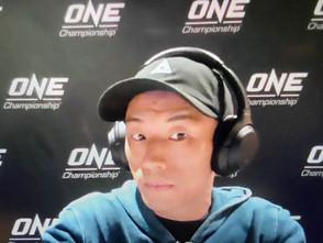 【ONE】竹中大地 試合前オンライン囲みフルインタビュー 「フライ級で上狙えるちゃうかなって思ってもらえるような試合をしたいと思ってるんで楽しみにしててください」