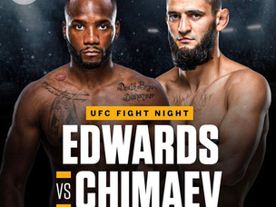 【UFC】エドワーズ ランキング削除から一転 チマエフと対戦へ