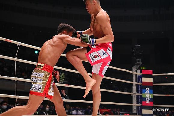 【RIZIN】村元友太郎KO勝利し、フライ級GPをアピール「フライ級の試合おもしろいでしょ?」