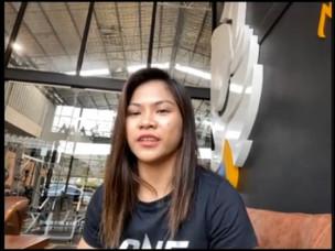 【ONE】女子アトム級GP デニス・ザンボアンガ コメント「8人の選手の中でも自分が最強のアトム級ファイターということを証明しにいくという気持ちです」