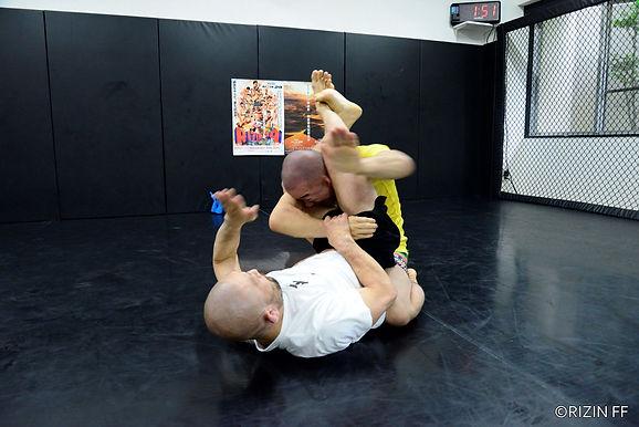 【RIZIN】今成正和公開練習「殴って倒します」