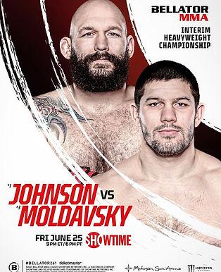 【Bellator】Bellator 261:ジョンソンvs. モルドフスキー開催~渡辺華奈、ジョン・マカパも参戦=6月25日