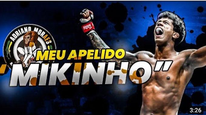 【ONE】フライ級王者アドリアーノ・モラエスが自らニックネームについて語るYouTubeチャンネルを更新