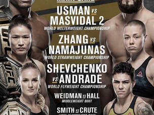 【UFC】UFC 261開催、トリプルタイトルマッチ!=4月24日