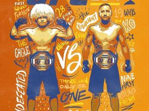 【UFC】10月24日(土)「UFC 254:Khabib vs. Gaethje」開催