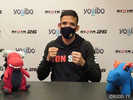 【RIZIN】クレベル・コイケ試合前インタビュー「ミクルに絶対勝てるし、サイトウも問題ない。誰にでも勝てますよ」