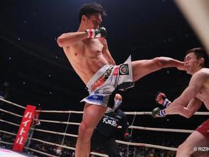 【RIZIN】朝倉未来試合後インタビュー 「今年はもっと格闘技に真剣に向き合って、世界で戦う選手になりたい」