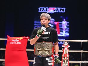 【RIZIN】浜崎朱加試合後インタビュー「今後の対戦相手は正直誰でもいいです。強い選手とやりたいです」