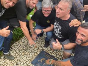 ブラジル リオデジャネイロ シティ・オブ・武道のルタ・リーブリのプレート
