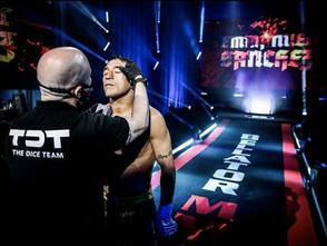 """BellatorスタッフのシャツにTDTのロゴがついたいきさつ~TDTのボスインタビュー「TDTは""""頑張る人を応援する""""テーマがあるのでカットマン、スタッフがつけているほうがいいなと思ったんです」"""