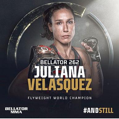 【Bellator】ジュリアナ・ヴェラスケスが王座初防衛