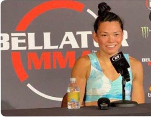 【Bellator】スミコ・イナバ「マクファーレンと同じ大会に出たい」