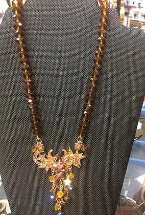 Kirks Folly Dragon Necklace Dracos Dream Vintage Design