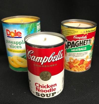 Upcycled Can Candle
