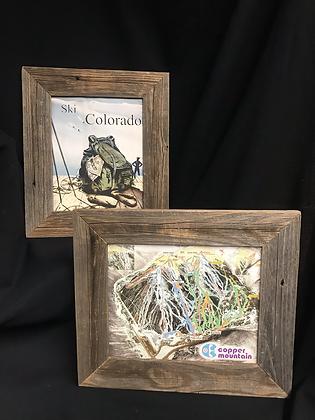 Ski Colorado & Copper Mountain Ski Resort Wood Framed Pictures