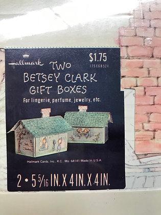 Betsy Clark 2 Gift Box Set Vintage Hallmark