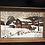 Thumbnail: 2 Kay Dee Vintage Framed Winter Prints on Linen