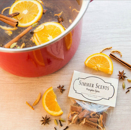 Simmer Scents Natural Potpourri -Various Aromas-FREE SHIPPING!