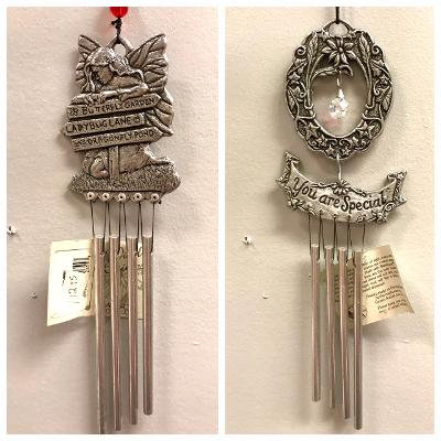 Metal Windchime Choice-Fairy or Special Person