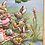Thumbnail: Bunny Picnic Cloth 3D Framed Picture Easter Spring Decor