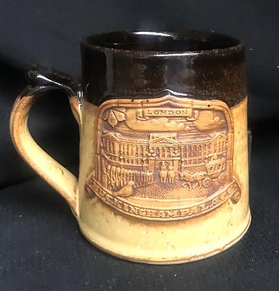 Buckingham Palace Clay Coffee Mug England Royal Family Memorabilia