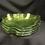 "Thumbnail: 8"" Green Glass Salad Plates-set 4"