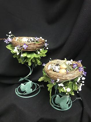 Handmade Bird Nest Pair