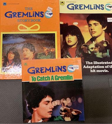 Gremlins Movie Three Book Pack Vintage 1980s