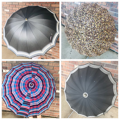 Vintage Umbrella-Choice 4, Good Condition, Springtime Summertime Accessory