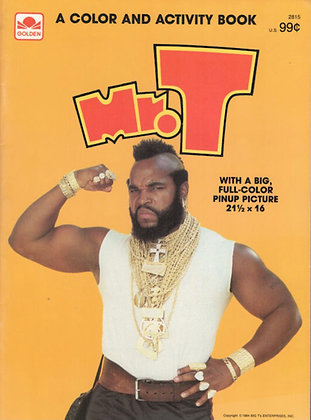 Mr. T Three Book Pack 1980s TV The A Team