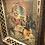 Thumbnail: Vintage JESUS Lenticular Hologram Filagree Brass Frame