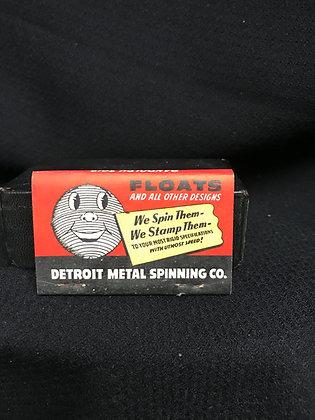 Vintage Matchbook - Detroit