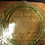 "Thumbnail: Green Depression Glass 10"" Princess Cake Plate & 2 Plates"