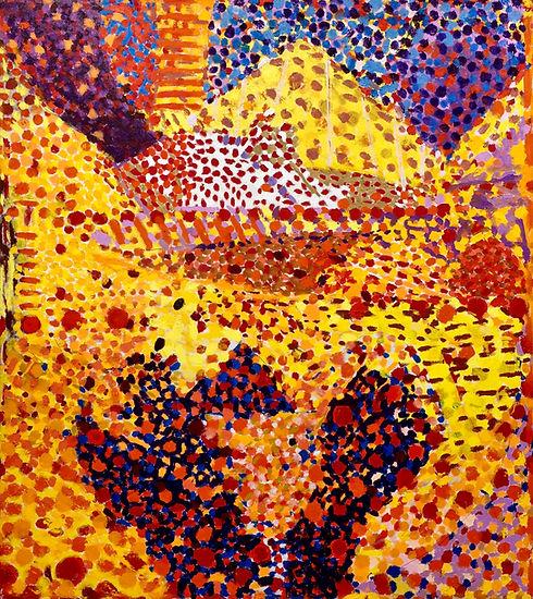 Yellow Peak     56 x 50 x 1.25_       oi