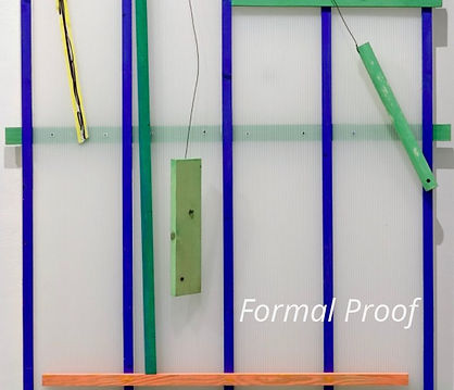 Formal Proof- scuptures by Sterling Allen and Larry Graeber, essay by Anjali Gupta