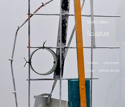 Sculpture Studio Debris- with essay by Matthew Mendez