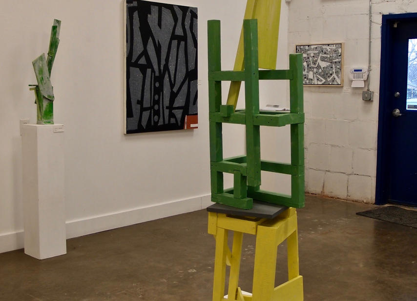 Silent; Dock Space Gallery, January 13 - February 2, 2018