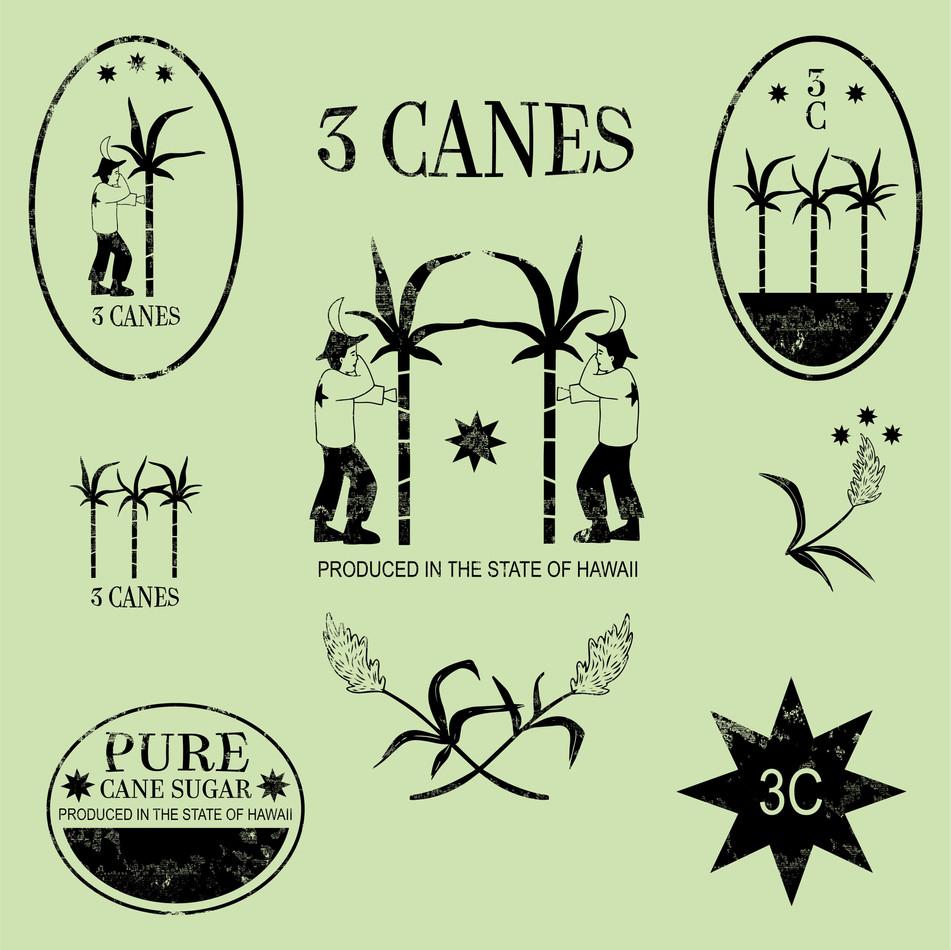 3 Canes Full Branding