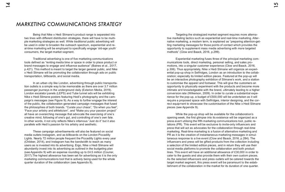 Marketing Communications Strategy