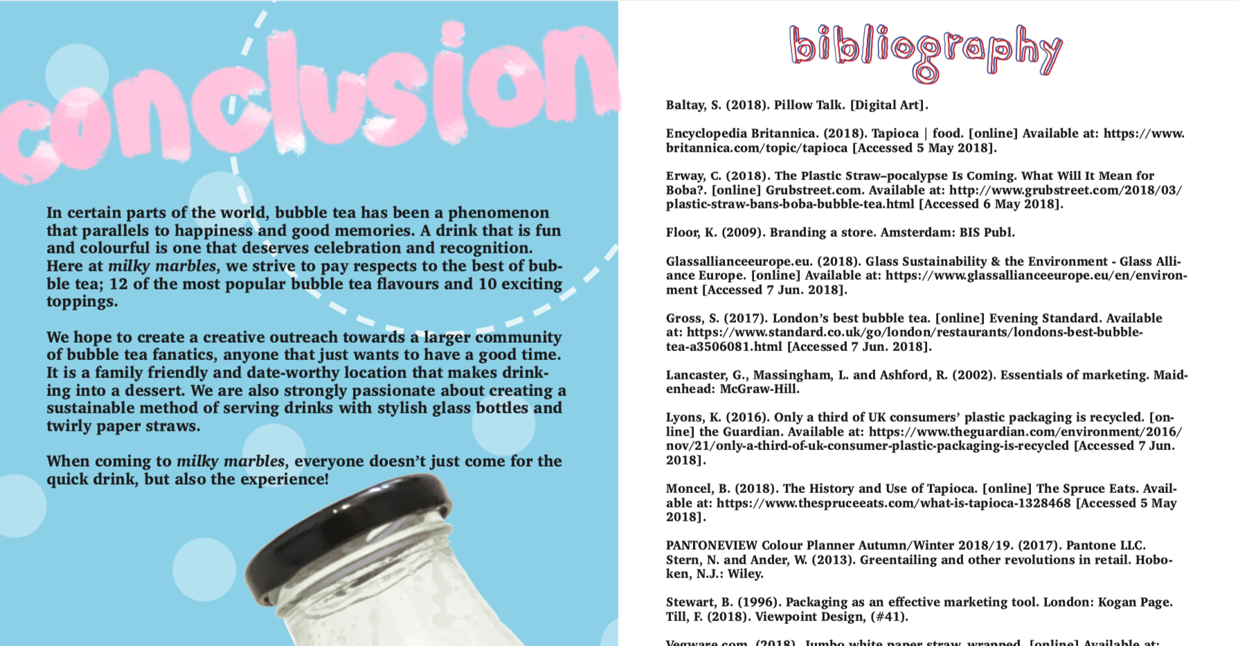 conclusion & bibliography