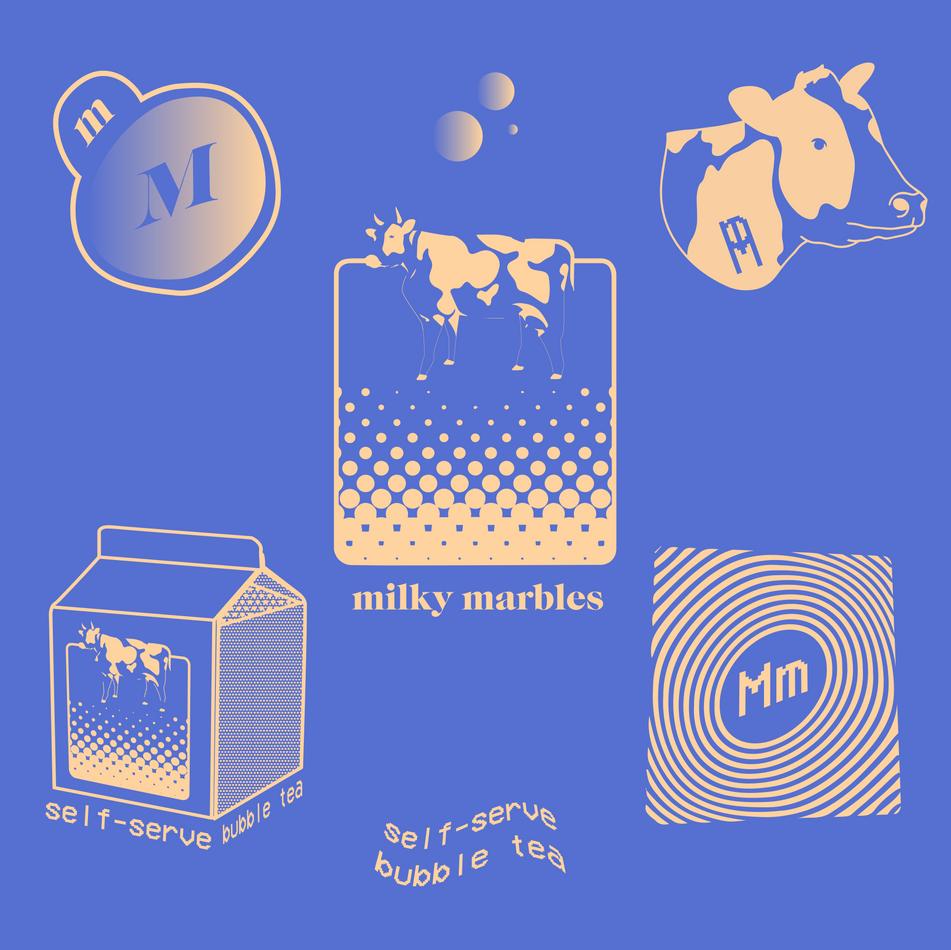 Milky Marbles Full Branding