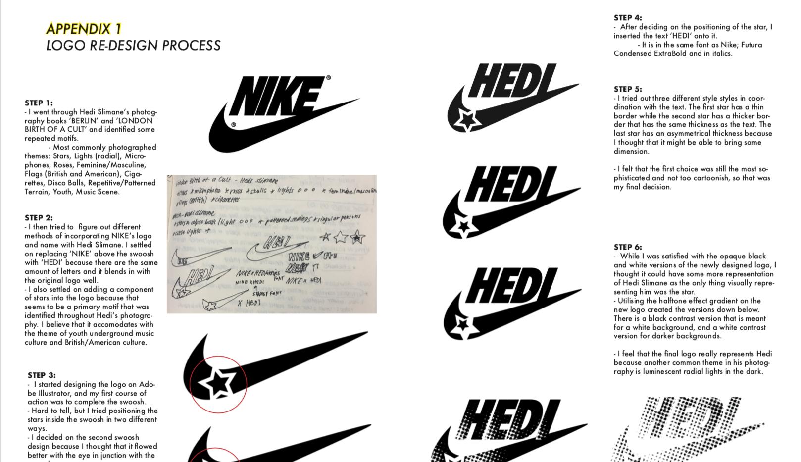Appendix 1: Logo Redesign Process