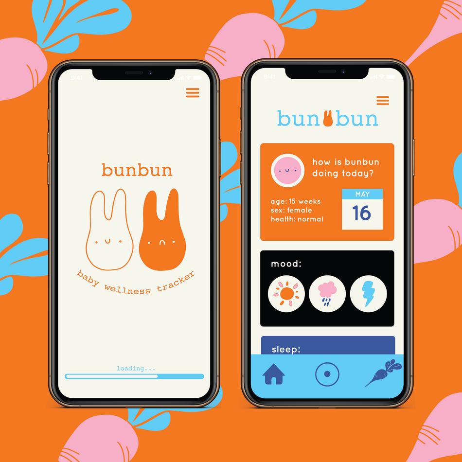 Bunbun App Mockup