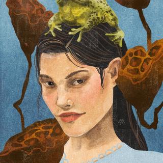 Girl x Frog Portrait