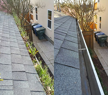 before-after-gutter-cleaning-debris-clea