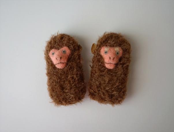 Monkey brooch © mina chape