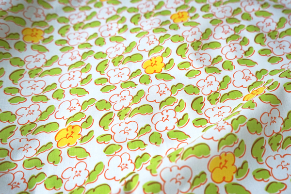 """Textile """"Flower Dance"""" © mina chape"""